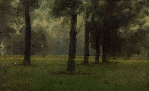 Paul Fordyce Maitland - Autumn, Kensington Gardens, c.190